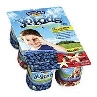 Stonyfield YoKids Blueberry & Strawberry Vanilla 4oz EA 6PK