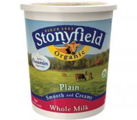 Stonyfield Farm Organic Yogurt Whole Milk Plain 32oz Tub
