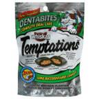 Whiskas Dentabites Temptations Treats for Cats 2.1oz Bag