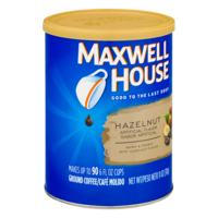 Maxwell House Ground Coffee Hazelnut 11oz Can product image