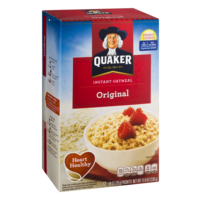 Quaker Instant Oatmeal Original 12PK 11.8oz Box