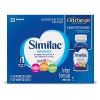 Similac Advance Infant Formula Ready To Feed 6PK of 8oz BTLS product image