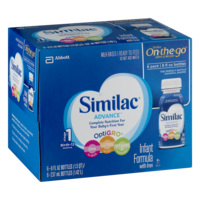 Similac Advance Infant Formula Ready To Feed 6PK of 8oz BTLS