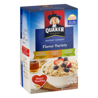 Quaker Instant Oatmeal Flavor Variety Pack 10PK 15.1oz Box