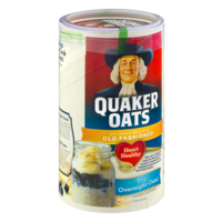 Quaker Old Fashioned Oats 18oz Can