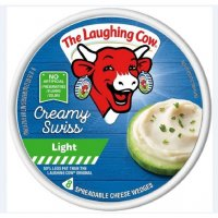 The Laughing Cow Spreadable Cheese Light Swiss Original 6oz