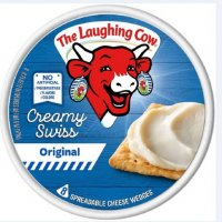 The Laughing Cow Spreadable Cheese Swiss Original 6oz