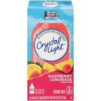 Crystal Light On The Go Packets Raspberry Lemonade 10CT PKG