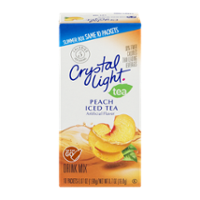 Crystal Light On The Go Packets Peach Tea 10CT PKG product image