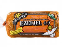 Food For Life Ezekiel Sprouted 100% Whole Grain Bread 24oz PKG