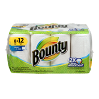 Bounty Giant Roll Select-A-Size White 2-Ply 8CT