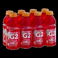 Gatorade G2  Low Calorie Electrolyte Fruit Punch Beverage 8PK of 20oz BTLS