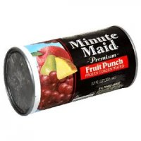 Minute Maid Fruit Punch 12oz can
