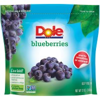 Dole Frozen Blueberries 12oz  Bag