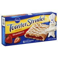 Pillsbury Toaster Strudel Strawberry 6CT 11.5oz Box
