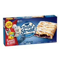 Pillsbury Toaster Strudel Blueberry 6CT 11.5oz Box