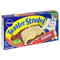 Pillsbury Toaster Strudel Raspberry 6CT 11.5oz Box