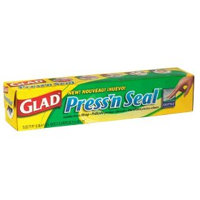 Glad Press N Seal Sealable Plastic Wrap w Griptex 70SQ FT