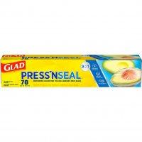 Glad Press N Seal Sealable Plastic Wrap w Griptex 70SQ FT