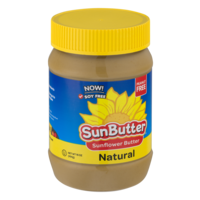 Sunbutter Sunflower Butter Natural Creamy 16oz Jar product image