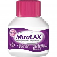 MiraLAX Powder Laxative 7 Once-Daily Doses 4.1oz BTL