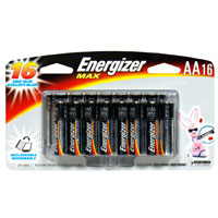 Energizer Max Batteries Size AA 16CT