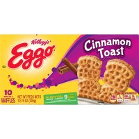 Eggo Waffles Cinnamon Toast 10 Sets of 4-10.75oz Box