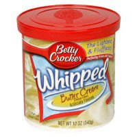 General Mills Betty Crocker Whipped Cake Frosting Butter Cream 12oz Can