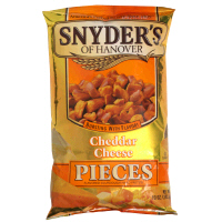 Snyder's of Hanover Pretzel Pieces Cheddar Cheese 12oz Bag