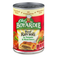 Chef Boyardee Beef Ravioli 15oz Can product image