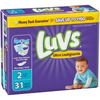 Luvs Diapers Size 2 (12-18LB) Jumbo Pack 40CT PKG
