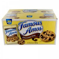 Famous Amos Chocolate Chip Cookies 36CT 2oz EA 60oz Box