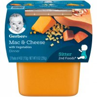 Gerber 2nd Foods Macaroni & Cheese with Vegetables 4oz 2PK
