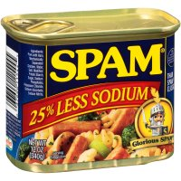 Hormel Spam 25% Less Sodium 12oz Can product image