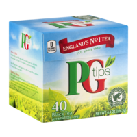 PG Tips Pyramid Tea Bags 40CT product image