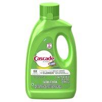 Cascade Auto Dish Detergent Gel Lemon with Clorox 75oz. BTL product image