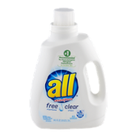 All Liquid Detergent Free Clear 2x Concentrate 94.5oz BTL