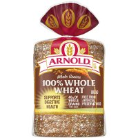 Arnold Whole Grains Bread 100% Whole Wheat 24oz PKG