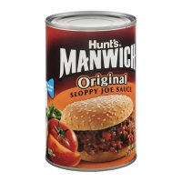 Hunt's Manwich Sloppy Joe Sauce Original  24oz Can