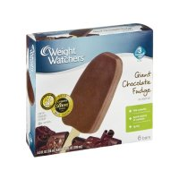 Weight Watchers Ice Cream Bars Giant Fudge 6CT 24oz Box