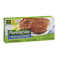 Morningstar Farms Veggie Sausage Patties 6CT 8oz PKG
