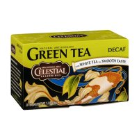 Celestial Seasonings Decaf Green Tea with White Tea Bags 20CT PKG