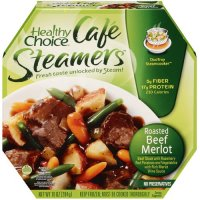 Healthy Choice Cafe Steamers Roasted Beef Merlot 9.5oz PKG