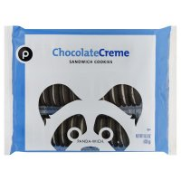 Store Brand Chocolate Creme Sandwich Cookies 15.5oz PKG