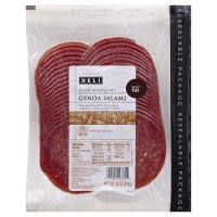 Store Brand Genoa Salami Deli Packaged Reduced Fat 10oz PKG