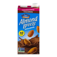Almond Breeze Unsweetened Chocolate Non-Dairy Beverage 32oz CTN product image