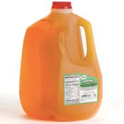 Store Brand Orange Flavored Drink 1 Gallon Jug