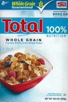 General Mills Total Cereal Whole Grain 16oz Box