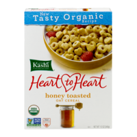 Kashi Heart To Heart Cereal Honey Toasted Oats 12oz Box product image