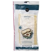 Store Brand Deli Packaged Sliced Swiss Cheese 8CT 6oz PKG